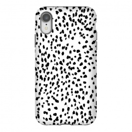 iPhone Xr  Dalmat-b&w-Animal print I by ''CVogiatzi.