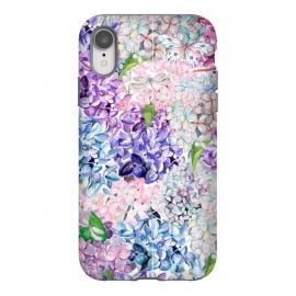 iPhone Xr  Spring Hydrangea Pattern by