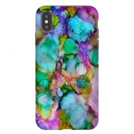 iPhone Xs Max  Alcohol ink 8 by Haris Kavalla