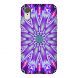 iPhone Xr  ultra violet mandala by