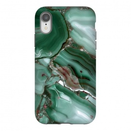 iPhone Xr  Green Malachite Agate by