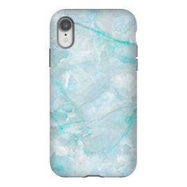 iPhone Xr  Light Blue Veined Agate by