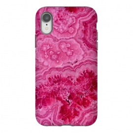 iPhone Xr  Strong Pink Agate  by Utart