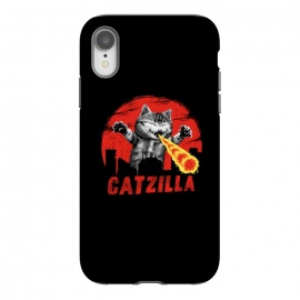 iPhone Xr  Catzilla by Vincent Patrick Trinidad