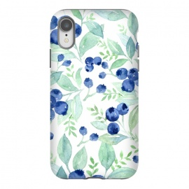 iPhone Xr  Blue Berry Pattern by Utart