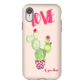 iPhone Xr  Love if you dare- Cactus by Utart