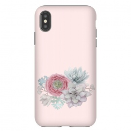 iPhone Xs Max  Boho - Cactus and flower by Utart