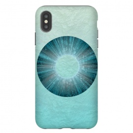 iPhone Xs Max  Turquoise Alien Iris by