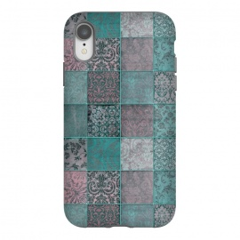 Vintage Teal Patchwork by Andrea Haase