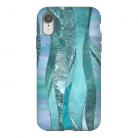 iPhone Xr  Turquoise Green Glamour by Andrea Haase