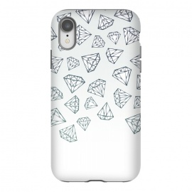 iPhone Xr  Diamond Shower by Barlena