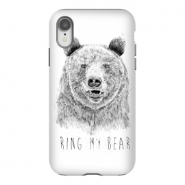 iPhone Xr  Ring my bear (bw) by Balazs Solti