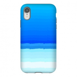 iPhone Xr  blue shaded lines shades by