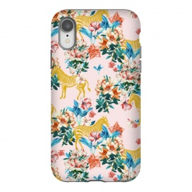 iPhone Xr  Floral and Zebras by