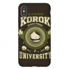 iPhone Xs Max  Korok University by Ilustrata