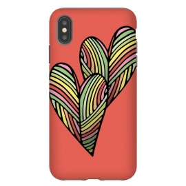 iPhone Xs Max  Two Hearts by Majoih