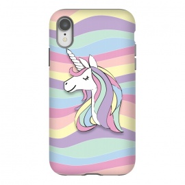 iPhone Xr  Cute Rainbow Unicorn by Martina