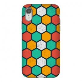 iPhone Xr  hexagonal tiles by