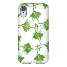 iPhone Xr  Green Leaves by Creativeaxle