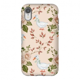 iPhone Xr  Goose in Rose Garden by