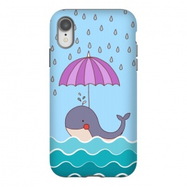 iPhone Xr  Swimming Whale by Creativeaxle