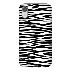 iPhone Xr  Zebra Stripes Black And White by Andrea Haase