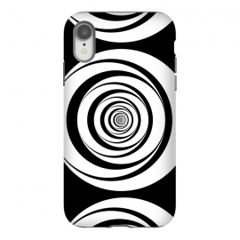 Concentric Circles Pop-Art Black White by Andrea Haase