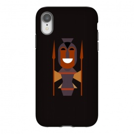 iPhone Xr  African Female Warrio by TMSarts