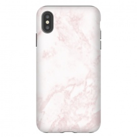 iPhone Xs Max  Rose-gold Marble Deluxe by Dushan Medich