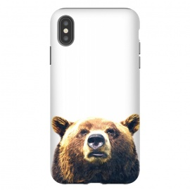iPhone Xs Max  Bear Portrait by