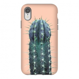 iPhone Xr  Cactus Illustration Pink Background by Alemi