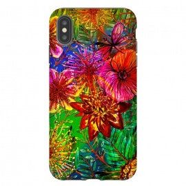 Colorful Flower Jungle by Utart