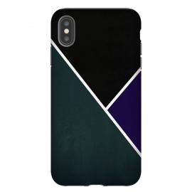 iPhone Xs Max  Noir Series - Forest & Deep Navy by Nicklas Gustafsson