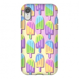 iPhone Xr  Ice Lollipops Popsicles Summer Punchy Pastels Colors by BluedarkArt