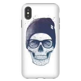 iPhone Xs Max  Colorful skull in hat by kodamorkovkart