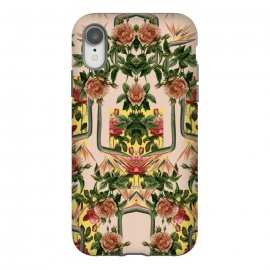 iPhone Xr  Retro Jungle Rose by Zala Farah