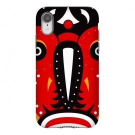 iPhone Xr  teke tribal mask by