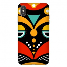 iPhone Xs Max  rasta tribal mask by TMSarts