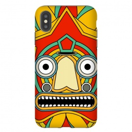 iPhone Xs Max  indian tribal mask by TMSarts
