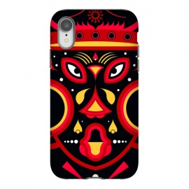 iPhone Xr  ceremonial tribal mask by TMSarts