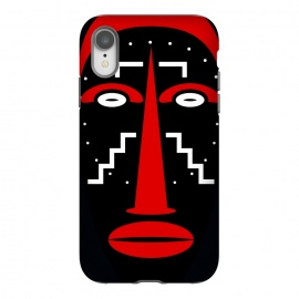 iPhone Xr  Ligbi tribal Mask by TMSarts