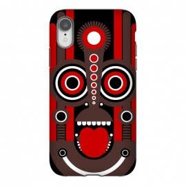 iPhone Xr  tiki tribal mask by