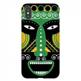 iPhone Xs Max  ritual tribal mask by