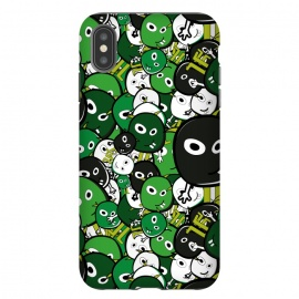 iPhone Xs Max  green monsters by TMSarts
