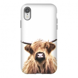iPhone Xr  Highland Cow Portrait by