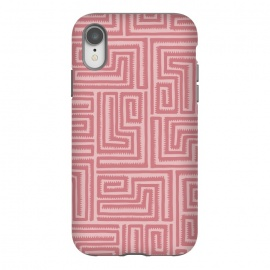 iPhone Xr  Pink Maze by Majoih