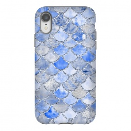 Blue and Silver Mermaid Scales by Utart