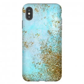 Gold and Teal Mermaid Glitter Foam by Utart