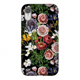 iPhone Xr  Vintage Flower Pattern by Utart