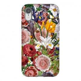 iPhone Xr  Beautiful Vintage Flowe Pattern by Utart